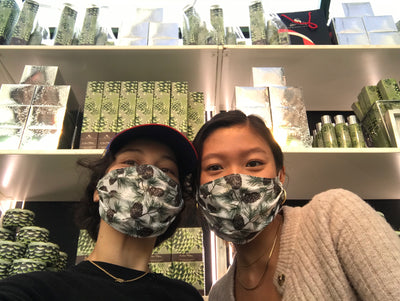 Jessica is making Face Masks at Buck and Doe Goods!