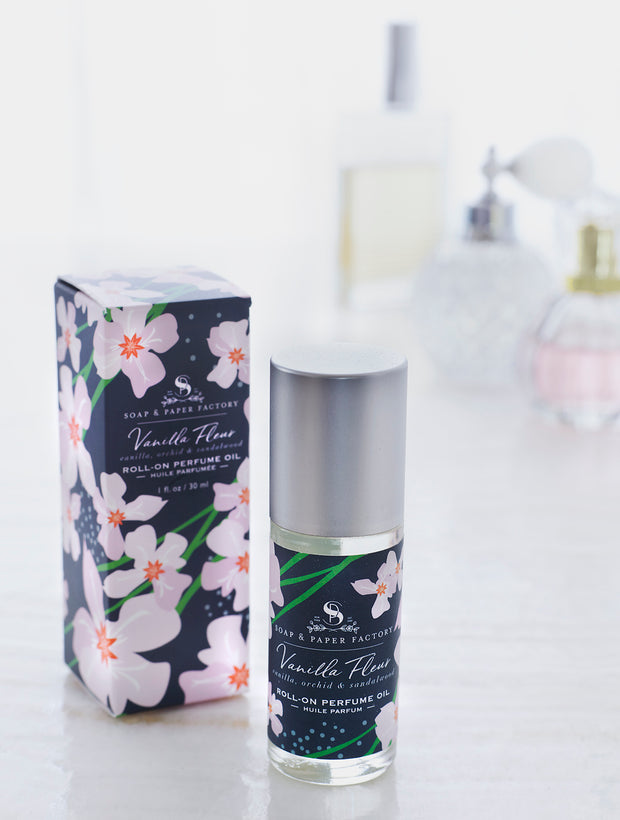 Vanilla Fleur Roll-On Perfume Oil