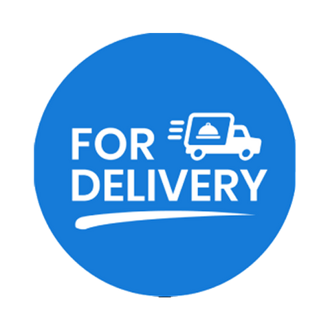 """For Delivery"" COVID-19 Vinyl Decal (2"")"