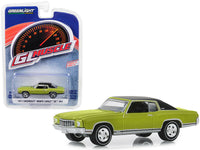 Greenlight 1:64 GreenLight Muscle Series 22 - 1971 Chevrolet Monte Carlo SS 454 - Cottonwood Green