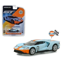 Greenlight 1:64 2019 Ford GT - Ford GT Heritage Edition - #9 Gulf Racing (Hobby Exclusive)