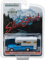Greenlight 1:64 1968 Chevy C10 Cheyenne with Silver Streak Camper (Hobby Exclusive)
