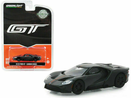 Greenlight 1:64 2019 Ford GT - 2019 GT Carbon Series - Orange Accent Color Package (Hobby Exclusive)