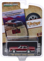 "Greenlight 1:64 Vintage Ad Cars Series 2 - 1986 Chevrolet Caprice Brougham ""The Uncompromised American Classic"""