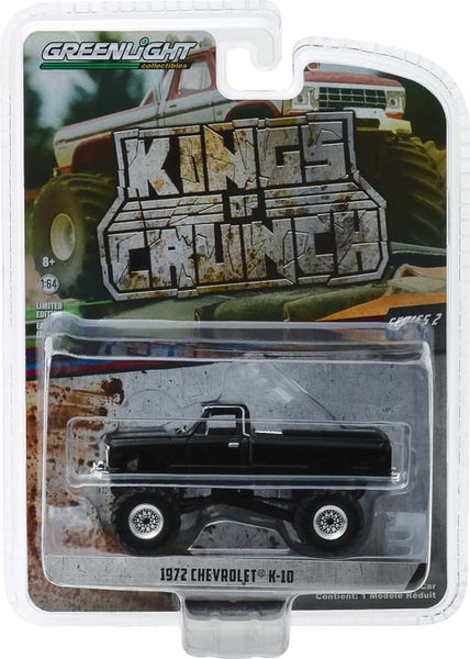 Greenlight 1:64 Kings of Crunch Series 2 - 1972 Chevrolet K-10 Monster Truck