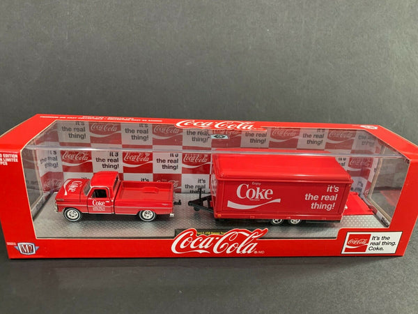 M2 Ford F250 Ranger 1969 & Mercury Custom 49 with Hauler Coca Cola