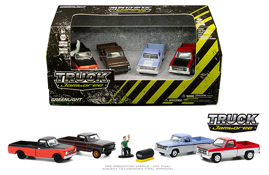 Greenlight 1:64 Multi-Car Dioramas - Truck Jamboree