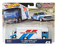 '71Datsun 510 Fleet Flyer Team Transporter
