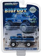 1:64 Bigfoot #1 The Original Monster Truck (1979) - 1974 Ford F-250 Monster Tr