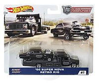 Hot Wheels Team Transport '66 Super Nova Retro Rig