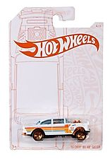 Hot Wheels PEARL and CHROME 55 Chevy Bel Air Gasser