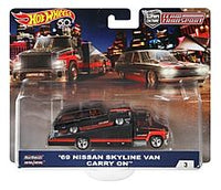 Hot Wheels Team Transport '69 Nissan Skyline Van