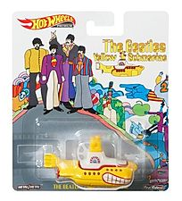 2019 Hot Wheels Retro The Beatles Yellow Sub