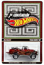 TEXAS DRIVE 'EM Hot Wheels 2014 MEXICO CONVENTION