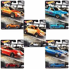 Hot  Wheels Car Culture Cruise Boulevard Series case of FPY86-956M