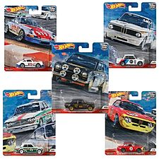Hot Wheels Car Culture Door Slammer Set of 5
