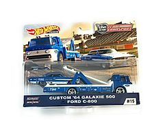 Hot Wheels Team Transport Custom Galaxie 500 64 and Ford C800