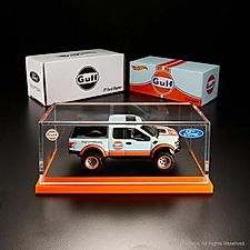 2019 Hot Wheels RLC Exclusive GULF '17 FORD RAPTOR