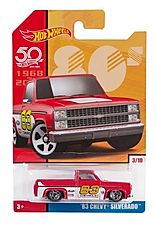 2018 HOT WHEELS THROWBACK DECADES 50TH ANNIVERSARY '83 CHEVY SILVERADO