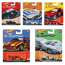 Hot Wheels Car Culture J case Silohouttes Sealed Case