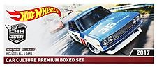 2017 HOT WHEELS CAR CULTURE PREMIUM BOXED SET of 5 BLISTERS Perfect
