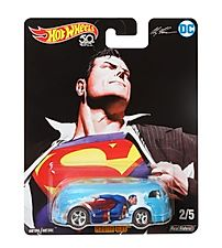 Hot Wheels 2018 DC Alex Ross 2/5 SUPERMAN HAULIN GAS
