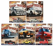 Hot Wheels Car Culture Shop Trucks case FPY86-956D