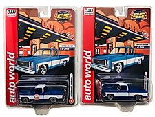 PAIR AUTO WORLD 1973 CHEVROLET C10 PICKUPS