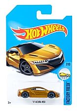 2017 Hot Wheels '17 Acura NSX SUPER TREASURE HUNT Gold