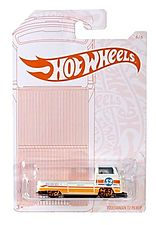 Hot Wheels Volkswagen T2 Pickup Pearl and Chrome
