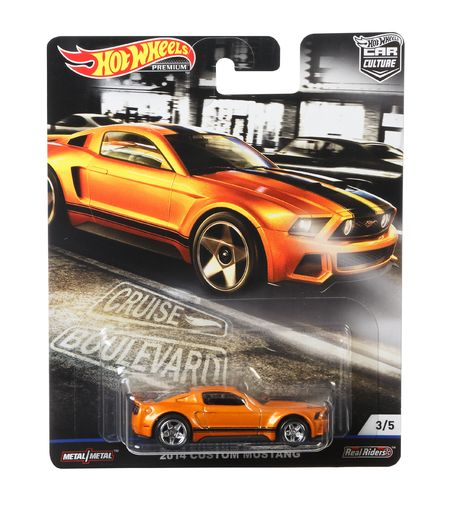 Hot Wheels Car Culture 2014 Custom Mustang