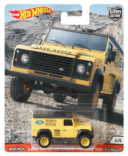 Hot Wheels Car Culture Land Rover Defender 110 Hard Top