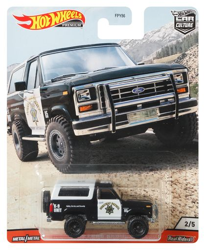 Hot Wheels Car Culture '85 Ford Bronco