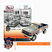 CTC Exclusive Autoworld Gulf 1978 Chevy K10 Pickup 4x4