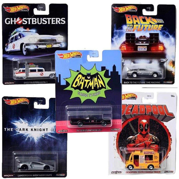 Hot Wheels Retro Entertainment DMC55-956R Set