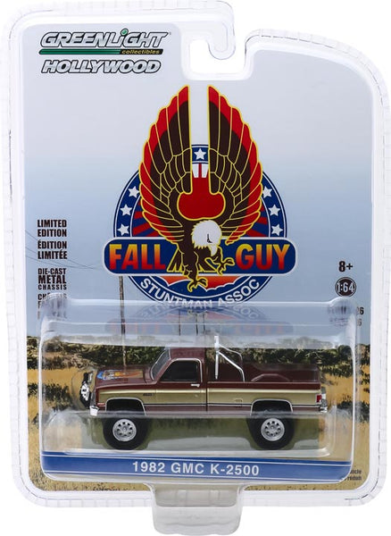 Greenlight 1:64 Fall Guy Stuntman Association - 1982 GMC K-2500