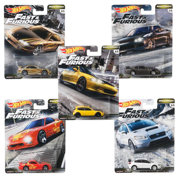 Hot Wheels Fast and Furious case GBW75-956F