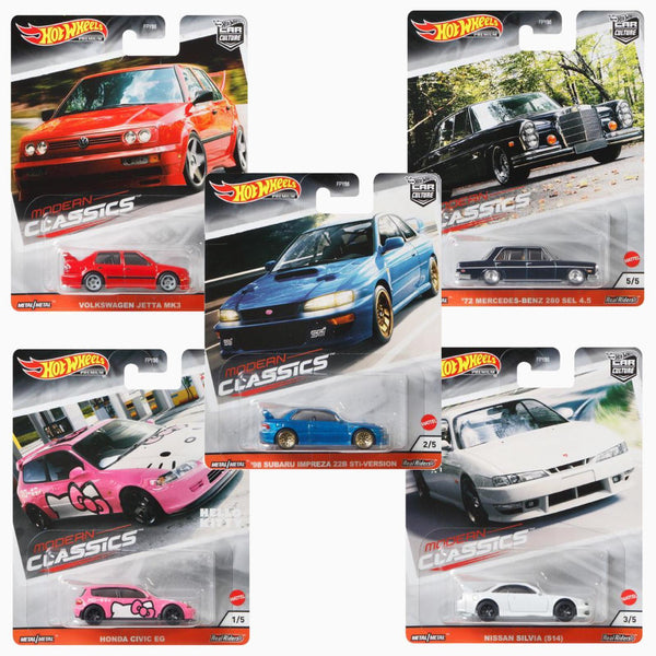 Hot Wheels FPY86-956S Car Culture Modern Classic Set