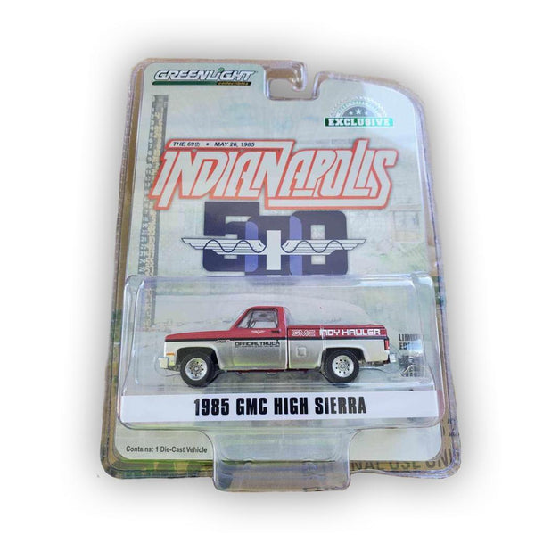 GREENLIGHT 1:64 1985 GMC HIGH SIERRA 69th ANNUAL INDIANAPOLIS 500 INDY