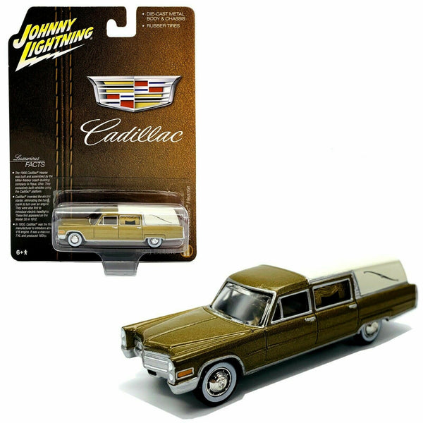 2020 JOHNNY LIGHTNING 1966 CADILLAC HEARSE HOBBY EXCLUSIVE SPECIAL EDITION 1/64 SCALE