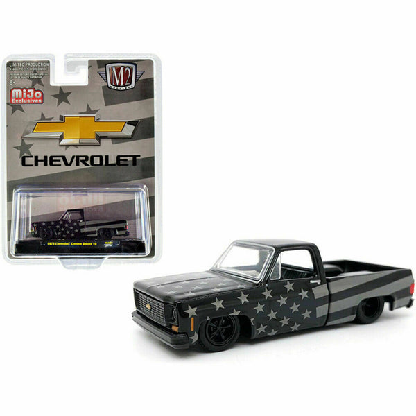 1973 CHEVROLET CUSTOM DELUXE 10 SQUARE BODY PICKUP 1/64 DIECAST M2 31500-MJS27
