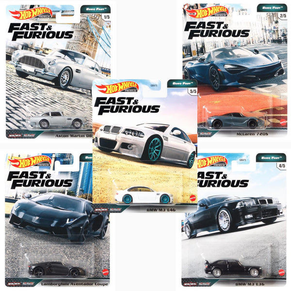 Hot Wheels Fast and Furious case GBW75-956K Case