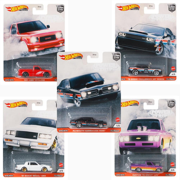 Hot Wheels FPY86-956T Car Culture Power Trip case