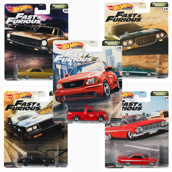 Hot Wheels Fast and Furious case GBW75-956G