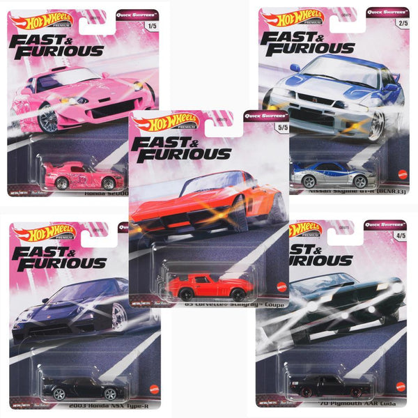 Hot Wheels Fast and Furious case GBW75-956J