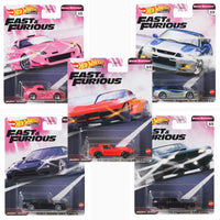Hot Wheels Fast and Furious case GBW75-956J Set