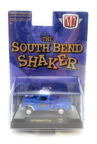 M2 MACHINES 1950 STUDEBAKER 2R GASSER TRUCK SOUTH BEND SHAKER 1/64 SCALE