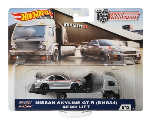 Hot Wheels Team Transport Nissan Skyline GT-R