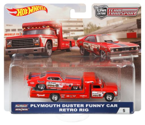 Hot Wheels Team Transport Mongoose Funny Car