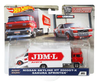 Hot Wheels Nissan Skyline HT 2000GT-X Team Transports